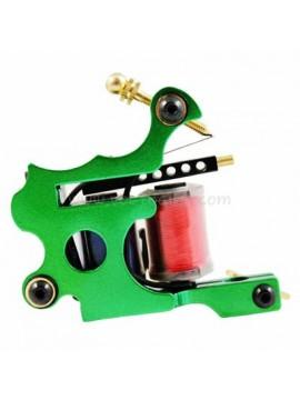 Maszynka Do Tatuażu N102 10 Cewka Warstwowa Kolor Żelazny Shader Zielony
