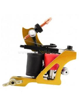 Maszynka Do Tatuażu N102 10 Cewka Warstwowa Kolor Żelazny Shader Żółty