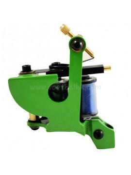 Maszynka Do Tatuażu N102 10 Cewka Warstwowa Żelazny Liniowiec Zielony