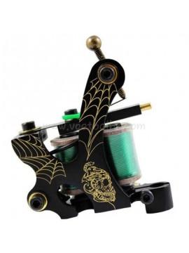 Maszynka Do Tatuażu N103 10 Cewka Warstwowa Brąz Liniowiec Sieci