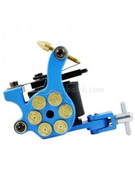 Maszynka Do Tatuażu N105 10 Cewka Warstwowa Żelazny Shader Bullet Niebieski