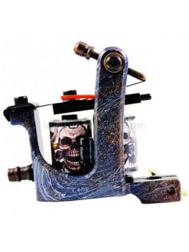 Maszynka Do Tatuażu N106 10 Cewka Warstwowa Żelazny Shader Czaszka