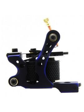 Maszynka Do Tatuażu N110 10 Cewka Warstwowa Kolor Aluminiowy Shader Czarny Niebieski