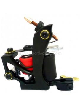 Maszynka Do Tatuażu N110 10 Cewka Warstwowa Kolor Aluminiowy Shader Latający Czarny