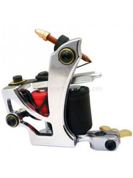 Maszynka Do Tatuażu N110 10 Cewka Warstwowa Kolor Aluminiowy Shader Latający Srebro