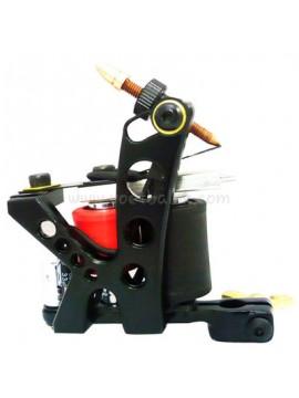 Maszynka Do Tatuażu N110 10 Cewka Warstwowa Kolor Aluminiowy Shader Otwór Czarny