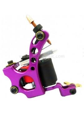 Maszynka Do Tatuażu N110 10 Cewka Warstwowa Kolor Aluminiowy Shader Otwór Fioletowy