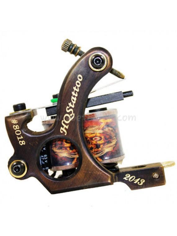 Maszynka Do Tatuażu N130 10 Cewka Warstwowa Bronze Shader Numer 8018