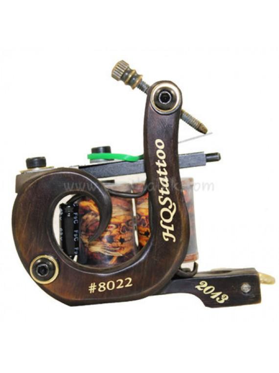 Maszynka Do Tatuażu N130 10 Cewka Warstwowa Bronze Shader Numer 8022