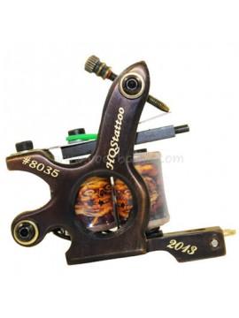 Maszynka Do Tatuażu N130 10 Cewka Warstwowa Bronze Shader Numer 8035