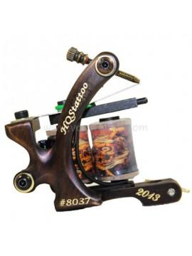 Maszynka Do Tatuażu N130 10 Cewka Warstwowa Bronze Shader Numer 8037