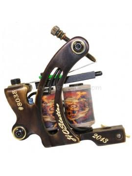 Maszynka Do Tatuażu N130 10 Cewka Warstwowa Bronze Shader Numer 8038